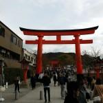 京都の伏見稲荷大社で迷子になりました(笑)