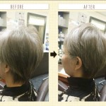 白髪染めを辞めても 若々しく要られるヘアスタイルあります!